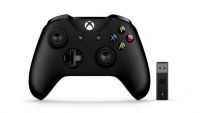 Microsoft Геймпад Xbox One Controller + Wireless Adapter for Windows 10