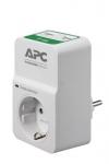 APC Essential SurgeArrest 1 розетка + 2 USB