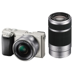 Sony Alpha 6000 [Kit 16-50 + 55-210 Silver]