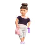 Our Generation Набір DELUXE - Лялька Сідней Лі з книгою (46 см)