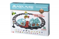 MagPlayer Конструктор Потяг 77 ел. (MPH2-77)