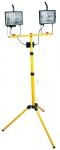 Topex 94W038 Прожектор галогенний переносний, 2 x 400 Вт на телескопічному штативі 2.1 м, 230 В, 50 Гц, IP54