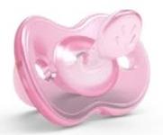 Nuvita Orthosoft ортодонтическая  Light 0м+ розовая
