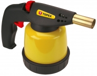 Topex 44E141 Лампа паяльна газова, картриджi 190 г, з п'єзоелементом