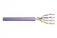 Digitus CAT 6 U-UTP, 305m, AWG 23/1, PVC, фиолетовы