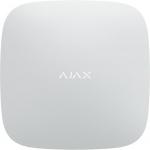Ajax Інтелектуальний центр системи безпеки Smart Hub (GSM+Ethernet), 230V, Jeweller, білий