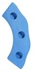 nic Підсвічник святковий дерев'яний напівкруглий синій