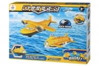 Same Toy Магнітний конструктор - Літак