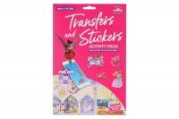 Scribble Down Набір перевідних наклейок з онлайн додатком - Казка про принцесу