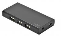 Ednet 7 порт, USB 2.0, активный с БП
