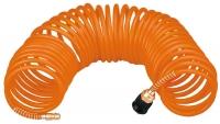 Topex 75M682 Шланг високого тиску спіральний, 5 x 8 мм, 8 бар, 15м