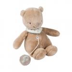 Nattou з музикою ведмедик Базиль (28 см)