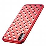 Baseus Paper-cut для iPhone X [Red (WIAPIPHX-BG09)]