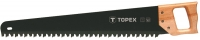Topex 10A760 Пилка для пiноблокiв, 600 мм/17 зубiв, твердосплавн.напайки