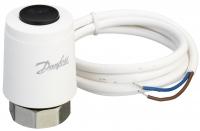 Danfoss Термоелектричний привід TWA-K NO 230V, M30 x 1.5, довжина кабелю 1.2м