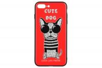 WK WPC-087 для iPhone 7/8 Plus [Cute Dog Red (681920360780)]