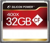 Silicon Power 400X Compact Flash Card [SP032GBCFC400V10]