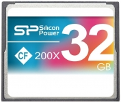 Silicon Power 200X Compact Flash Card [SP032GBCFC200V10]