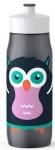 Tefal Пляшка для пиття 0,6 л [сіра, декор Сова]