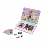 Janod Магнітна книга - Наряди для дівчинки
