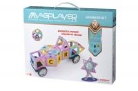 MagPlayer Конструктор магнітний набір 88 ел. (MPH2-88)