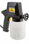 Topex 75M001 Краскопульт электрический, 230 В, 45 Вт, 1 л, до 160 г/мин, регулировка, 1 кг, CE