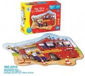Same Toy Пазл Пожежна машина