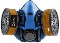 Neo Tools 97-350 Силіконова напівмаска на два фільтруючих патрона (без фільтруючих патронів)