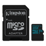 Kingston Canvas Go microSD [SDCG2/32GB]