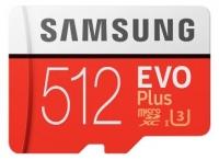 Samsung EVO Plus microSD C10 UHS-I [MB-MC512GA/RU]