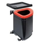Franke Сортер Pivot /121.0339.484/чорний пластик, чорна рамка