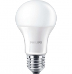 Philips LED Bulb E27 8-70W 230V 6500K A60/PF