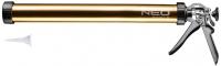 Neo Tools 61-006 Пистолет для герметиков, 600мл, стальной-алюминиевый корпус, толщина 1.1 мм, вращательная ручка