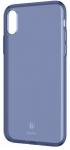 Baseus Simple Series Pluggy для iPhone X [Transparent Blue (ARAPIPHX-A03)]