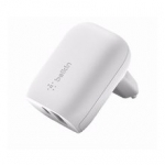 Belkin Home Charger (18W) Power Delivery Port USB-C, (12W) USB-A, white