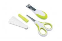 Nuvita Набір по догляду за дитиною (0м+, салатовий, безпечні ножиці з акс.)