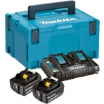 Makita LXT (BL1850Bx2, DC18RD, Makpac3)