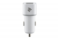 2E Dual USB Car Charger 2.4A&2.4A [2E-ACR01-W]