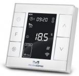 MCO Home Розумний термостат для керування водяною теплою підлогою /водонагрівачем, Z-Wave, 230V АС, 10А, білий