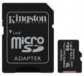 Kingston Canvas Select Plus microSD [SDCS2/64GB]