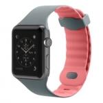 Belkin Sport Band для Apple Watch (38mm) [Сіро-рожевий]