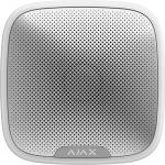Ajax Бездротова вулична сирена StreetSiren, Jeweller, 113 дБ, IP54, 3V CR123A, біла