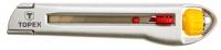 Topex 17B103 Нiж з лезом, що вiдламується, 18 мм, металевий корпус