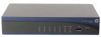HP MSR920 2x10/100 WAN, 8x10/100 LAN, 1-year warranty
