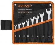 Dnipro-M Набор ключей рожково-накидных (8 шт.) (8-11, 13, 14, 17, 19 мм)