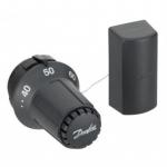 Danfoss Термоголовка FTC 5080 з виносним датчиком, регулювання 35-70 ° C, чорна