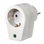 Hama Мережевий фільтр з окремими вимикачами кожної розетки [Мережевий адаптер з функцією захисту від стрибків напруги (білий)]