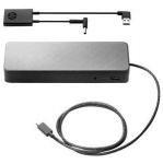 HP USB-C Universal Dock + 4.5mm and USB Dock Adapter Bundle EURO