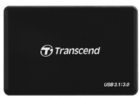 Transcend USB 3.1 Gen 1 Type-C SD/microSD/CompactFlash/Memory Stick