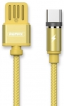 Remax Gravity series Magnetic cable Type-C Data/Charge [RC-095A-GOLD]